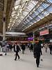 Victoria railway station London