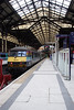 Train at Liverpool Street Railway Station London