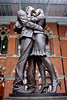The Meeting Place Statue St Pancras International Station London