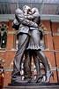 The Meeting Place Statue St Pancras International Station London