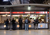 Burger King at Paddington Station London December 2007