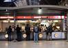 Burger King at Paddington Station London December 2007