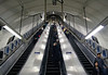 Escalator at Tottenham Court Tube Station London