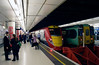 Gatwick shuttle train at Victoria Station London