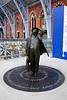 John Betjeman Statue at St Pancras International Station London