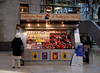 Paddington Bear stall at Paddington Station London December 2007