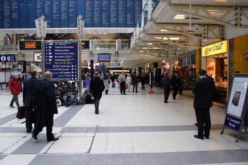 Liverpool Street Railway Station London