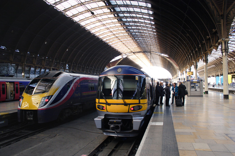 Locomotives at Paddington railway station London