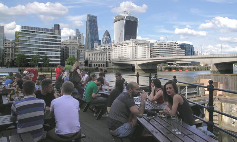 The Old Thameside Inn Pickfords Wharf London