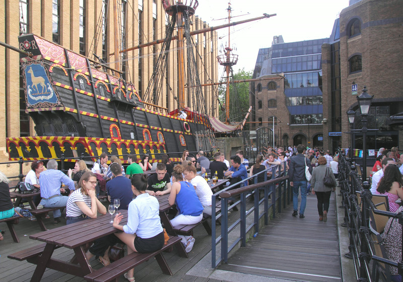 The Old Thameside Inn Pickfords Wharf London