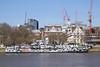 HMS President on the Victoria Embankment London