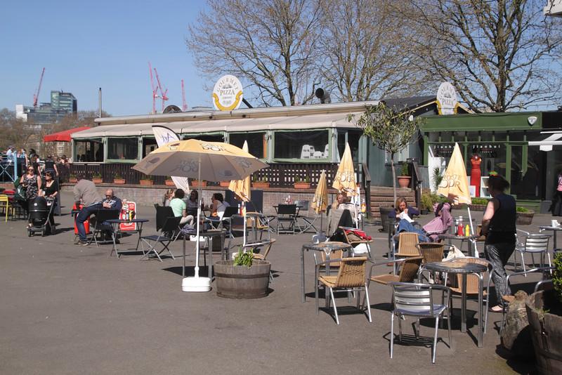 Gourmet Pizza Restaurant at Gabriels Wharf London