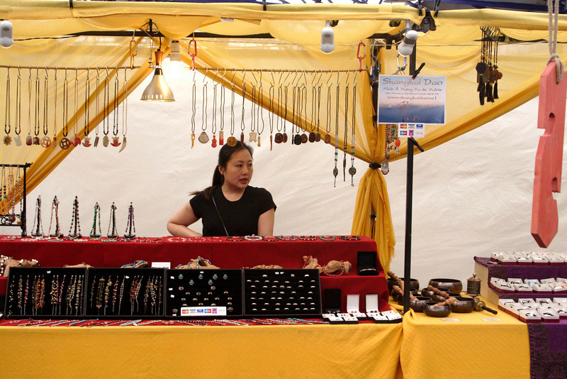 Jewellery Stall Greenwich Market June 2008