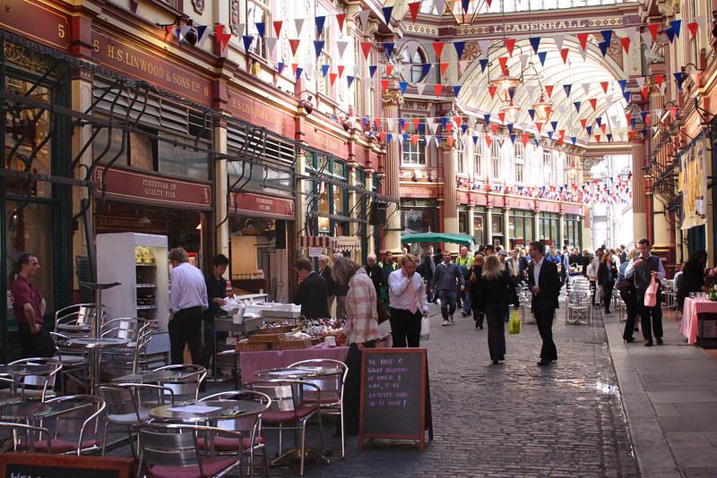 Leadenhall Market London September 2007