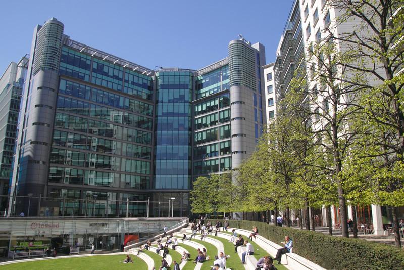 Sheldon Square Paddington Central London