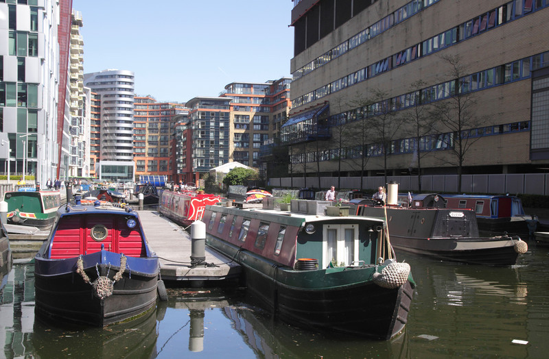 Paddington Basin London