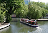 Canal Boat at Little Venice London