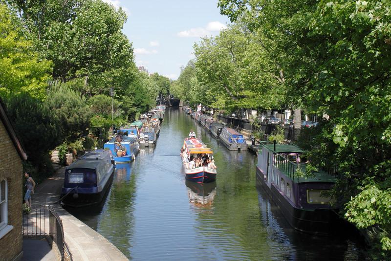 Regents Canal at Little Venice London