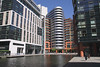 Modern apartments Paddington Basin London