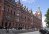 St Pancras railway Station London