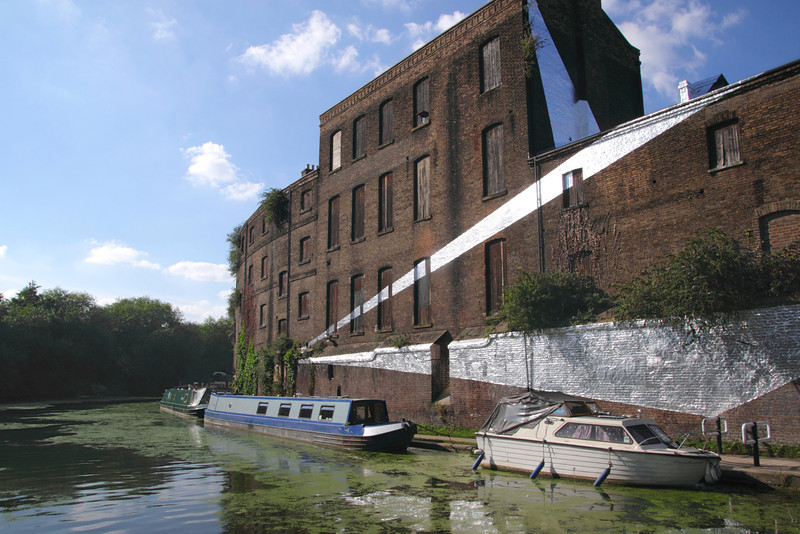 Former Fish and Coal Offices by Regent's Canal Kings Cross London