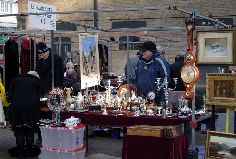 Old Spitalfields Market London October 2008