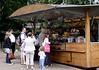 Refreshments stall at Green Park London May 2008