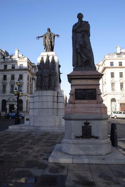 Crimean War memorial Waterloo Place London