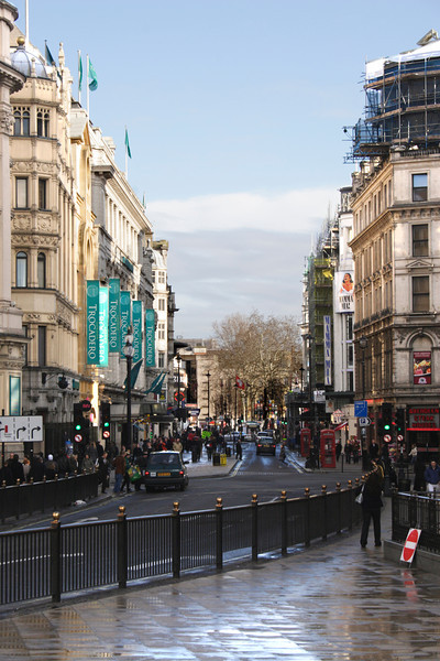 Coventry Street at Piccadilly Circus London