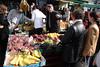 Fruit stall Portobello Road  Market London