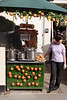 Mulled wine stall at Portobello Road London