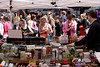 Cosmetics stall Portobello Road Market Notting Hill London