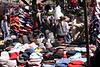 Hat stall Portobello Road Market Notting Hill London