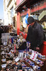 Stall in front of Alice's Antiques shop Portobello Road London