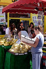 Fruit stall Portobello Road Market Notting Hill London