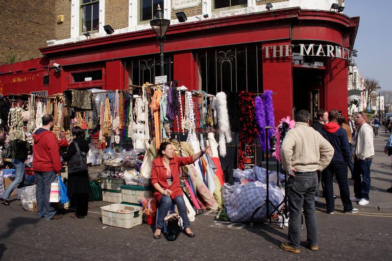 The Market Bar Restaurant and stall Portobello Road London