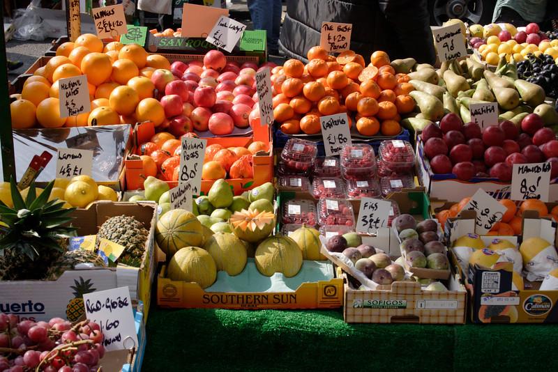 Fruit for sale at Portobello Road Market London