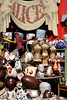 Antiques for sale at Alice's shop Portobello Road London