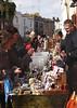 Stall in front of Alice's Antiques shop Portobello Road London