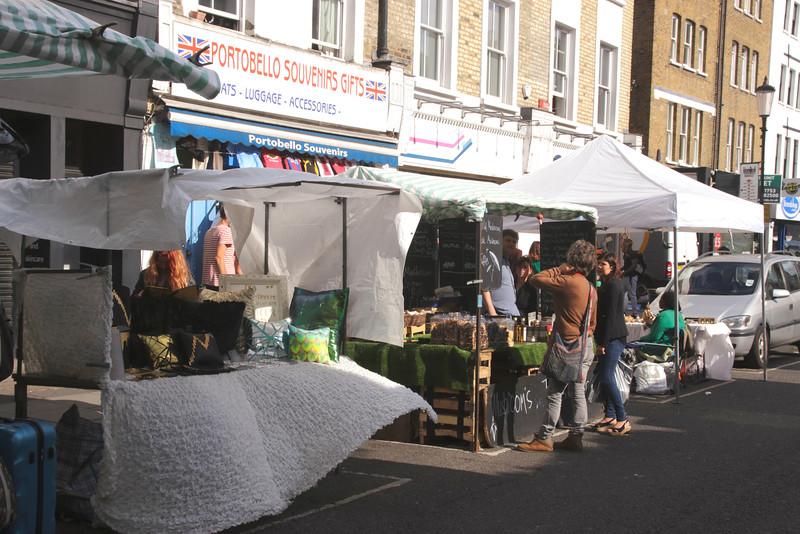 Portobello Road Market Notting Hill London