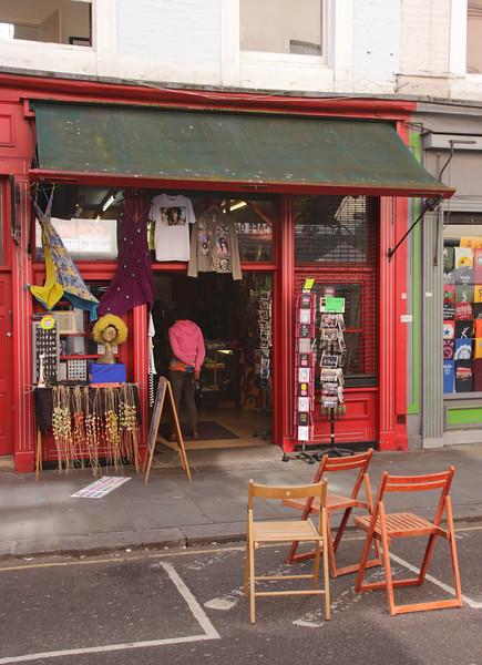 Gift shop Portobello Road Notting Hill London