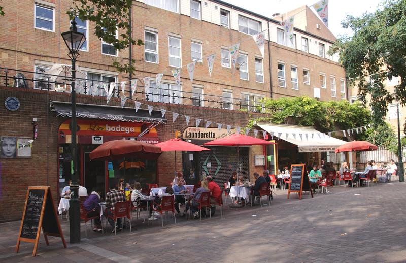 La Bodega Tapas Bar in Notting Hill London