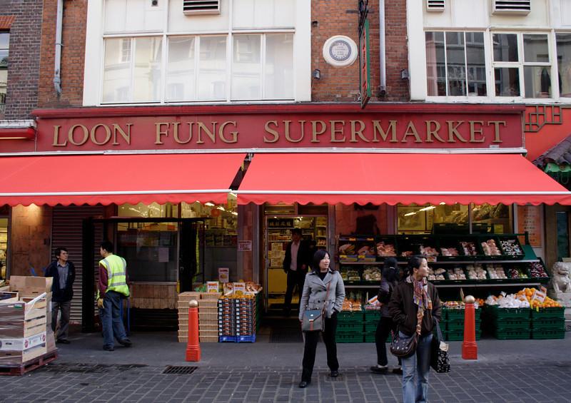 Loon Fung Supermarket Chinatown London November 2007