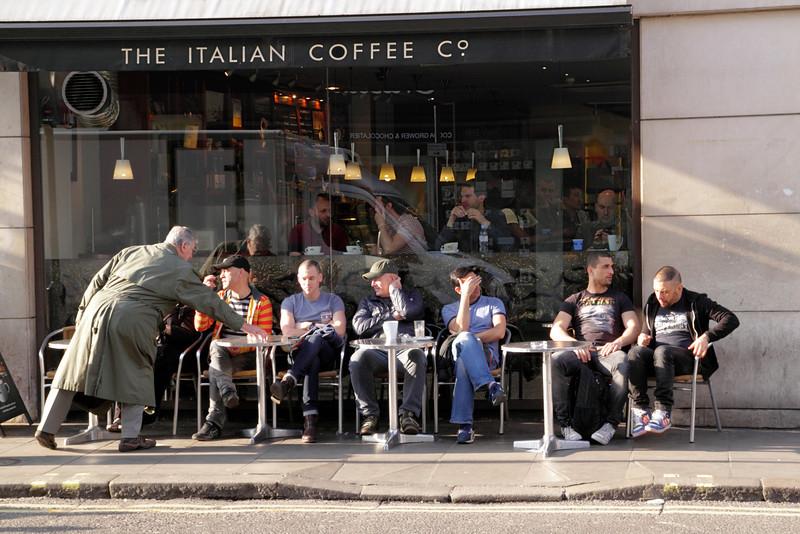 Caffe Nero Soho London March 2012