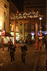 Chinatown London at night January 2008