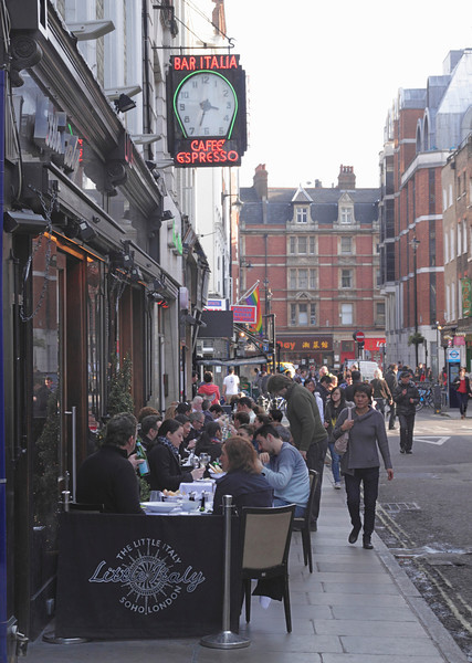The Little Italy Soho London March 2012