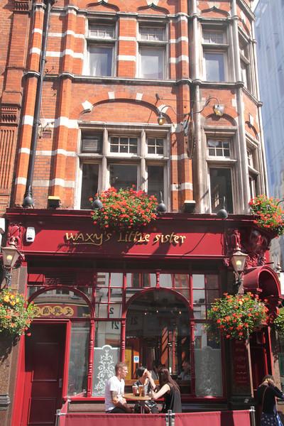 Waxy's Little Sister Irish pub in Chinatown Soho London