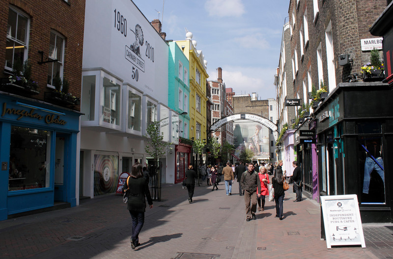 Carnaby Street London April 2010