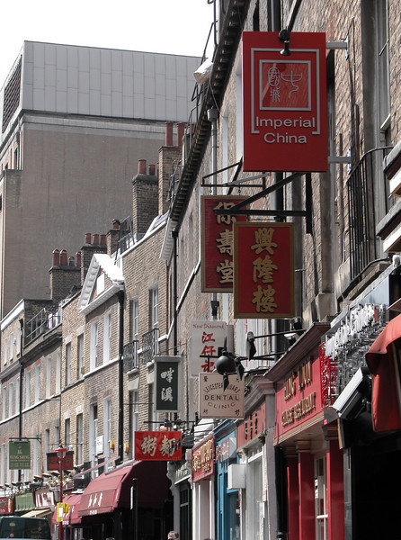 Shop signs Chinatown London