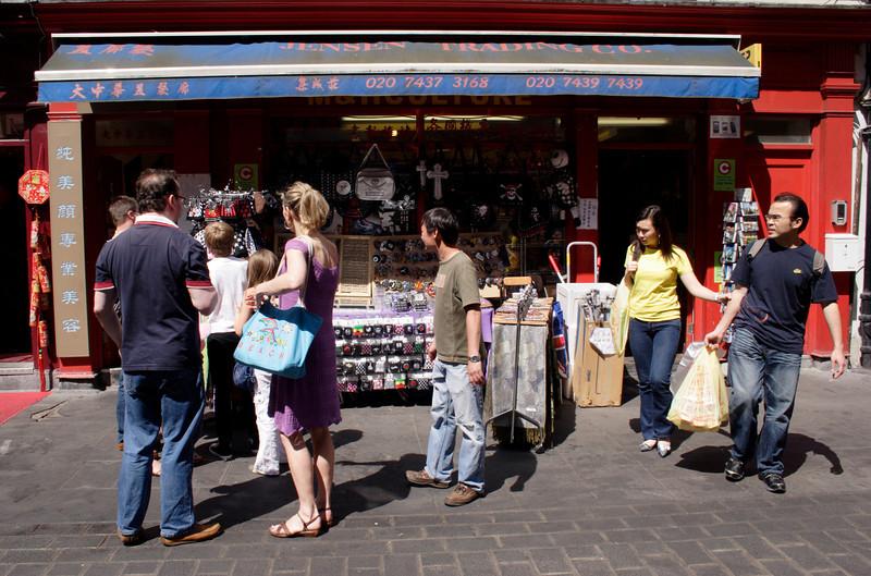 Shop at Chinatown London May 2008